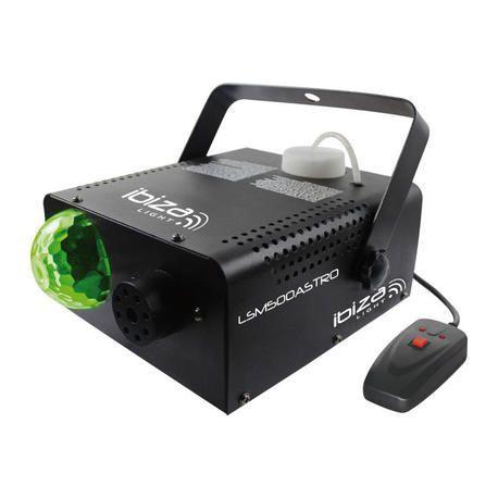 MAQUINA DE HUMO + EFECTO LED IBIZA LIGHT LSM500ASTRO 500W