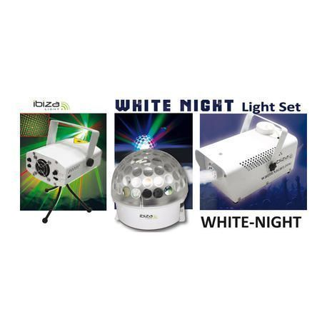 CONJUNTO DE ILUMINACION IBIZA LIGHT WHITE NIGHT