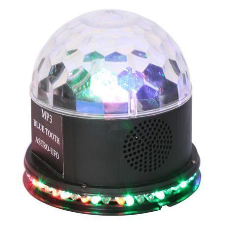 IBIZA LIGHT UFO-ASTRO-BT-BL EFECTO LED CON BLUETOOTH