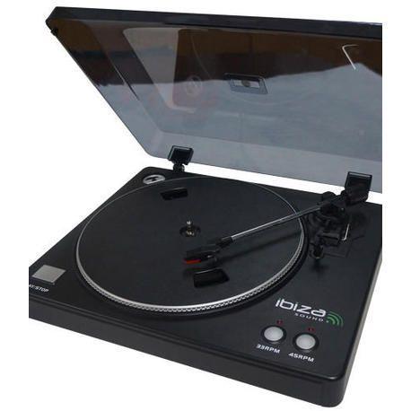 TOCADISCOS IBIZA SOUND LP200 USB