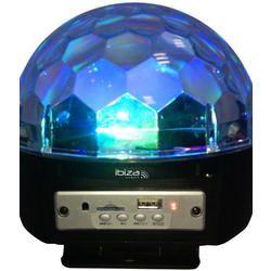 IBIZA LIGHT ASTRO-BAT-BT EFECTO LED RECARGABLE CON BLUETOOTH