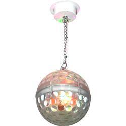 """IBIZA LIGHT ASTRO-BALL8 EFECTO LED 8""""-20cm RGBWA CON MANDO"""