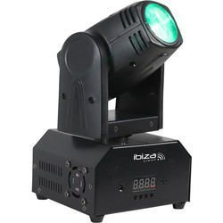 IBIZA LIGHT LMH250-RC CABEZA MOVIL LED BEAM 10W RGBW DMX CON MANDO