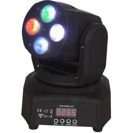 IBIZA LIGHT LMH350RGBW-MINI CABEZA MOVIL LED WASH DMX 4xRGBW