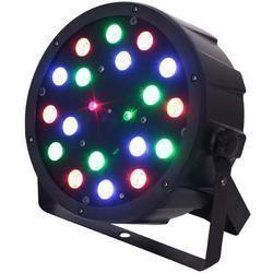 IBIZA LIGHT LEDPAR-LAS FOCO LED + LASER VERDE/ROJO 18x1W RGB 130mW