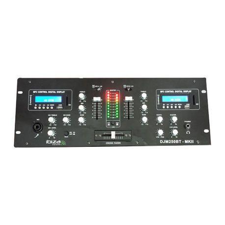 IBIZA SOUND DJM250BT-MKII EQUIPO COMPACTO PARA DJ USB/SD/BLUETOOTH