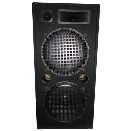 """IBIZA SOUND STAR215 ALTAVOZ 2x15"""" 600W-RMS 8-OHMS"""
