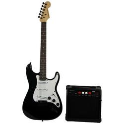 MADISON MADISON-STRAT10BL CONJUNTO DE GUITARRA BLACK