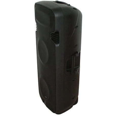 """IBIZA SOUND PORT238VHF-BT ALTAVOZ PORTATIL A BATERIAS 2x15"""" USB/SD/BT/VOX/2xVHF MICROS"""