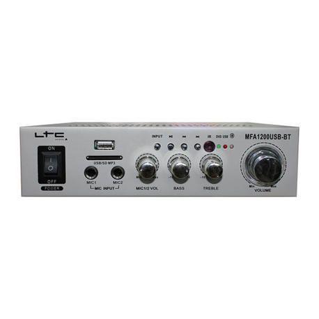 LTC AUDIO MFA1200USB-BT-SI AMPLIFICADOR HI-FI 2x50W