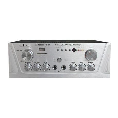 LTC AUDIO ATM2000USB-BT AMPLIFICADOR HI-FI USB/SD/BLUETOOTH 2x50W