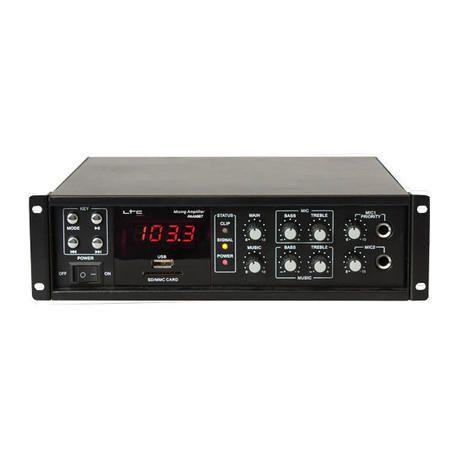 LTC AUDIO PAA80BT AMPLIFICADOR DE MEGAFONIA 80W BLUETOOTH/USB/FM