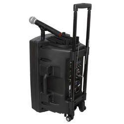 IBIZA SOUND PORT12UHF-BT ALTAVOZ PORTATIL A BATERIAS USB/VOX/BLUETOOTH/2xUHF MICS