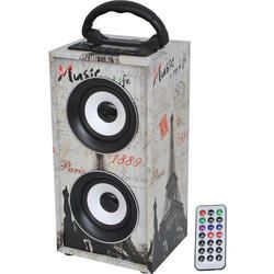 LTC AUDIO FREESOUND-PARIS ALTAVOZ PORTATIL USB/SD/AUX/BLUETOOTH/FM