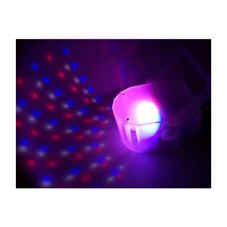 IBIZA LIGHT DERBY-MINI-CLEAR EFECTO LED
