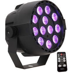 IBIZA LIGHT PARBAT-RGB3 FOCO LED DMX 12x3W RGB RECARGABLE