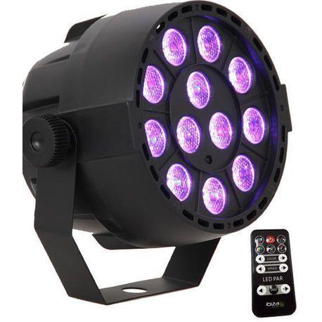IBIZA LIGHT PAR-MINI-RGB3 FOCO LED 12x3W RGB