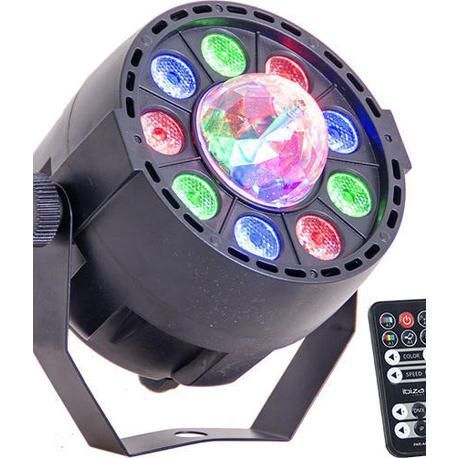 IBIZA LIGHT PAR-ASTRO EFECTO LED + FOCO LED
