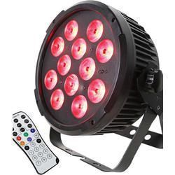 IBIZA LIGHT PARLED1212IR FOCO LED DMX 12x12W RGBWA-UV