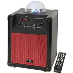 IBIZA SOUND KUBE60-RE ALTAVOZ PORTATIL A BATERIAS CON EFECTO LED