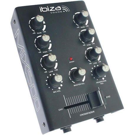 IBIZA SOUND MIX500 MESA DE MEZCLAS DJ