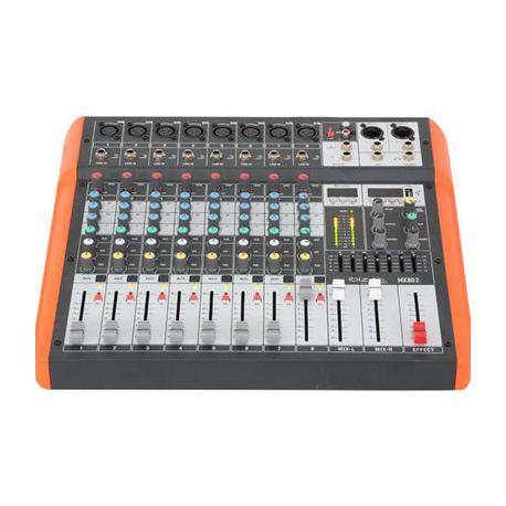 IBIZA SOUND MX802 MESA DE MEZCLAS USB/BLUETOOTH