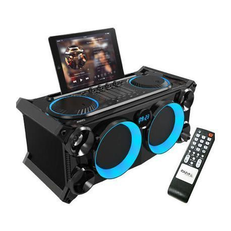 IBIZA SOUND SPLBOX200-BK ALTAVOZ PORTATIL BLUETOOTH/USB/SD/FM