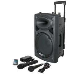 IBIZA SOUND PORT8UHF-BT ALTAVOZ PORTATIL A BATERIAS USB/VOX/BLUETOOTH/UHF MIC B-STOCK