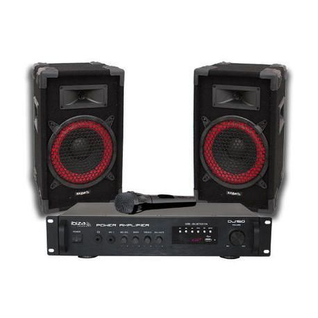 EQUIPO DE SONIDO IBIZA SOUND DJ150 150W B-STOCK