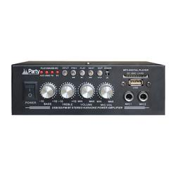 LTC AUDIO PLS1250USB-RC AMPLIFICADOR KARAOKE 2x25W USB/SD/MP3/FM/BT