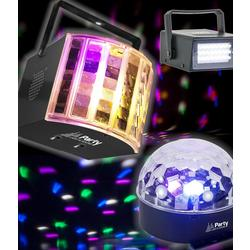 PARTY PARTY-3PACK CONJUNTO DE ILUMINACION LED