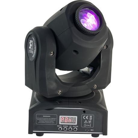 PARTY PARTY-SPOT7 CABEZA MOVIL DMX DE LED BLANCO 10W