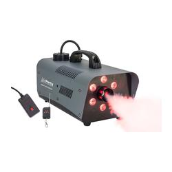PARTY PARTY-FOG1200LED MAQUINA DE HUMO DE 1200W DMX CON 6 LED RGB