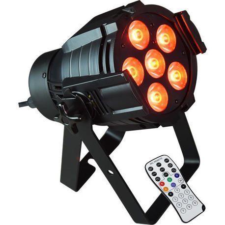 AFX PARLED608IR FOCO LED 6x8W RGBW CON MANDO