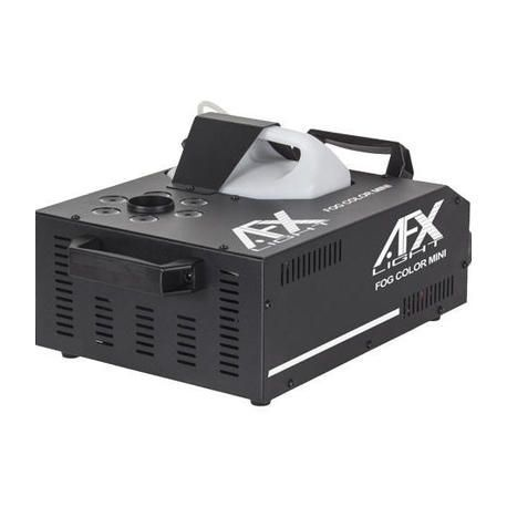 AFX FOG-COLOR-MINI MAQUINA HUMO 900W CON 6x3W LED RGB