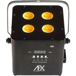 AFX FREEPARHEX-BL PROYECTOR DE LEDS RGBWA-UV 4x10W BLUETOOTH