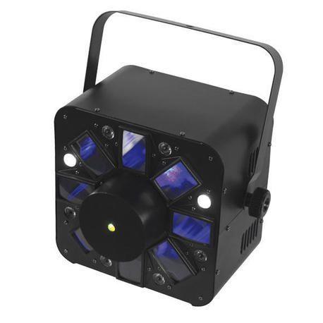 AFX COMBO-LED EFECTO LED RGBWA + LASER + FLASH