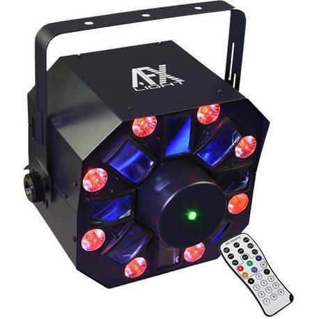 AFX COMBO-WASHFX EFECTO LED + LASER