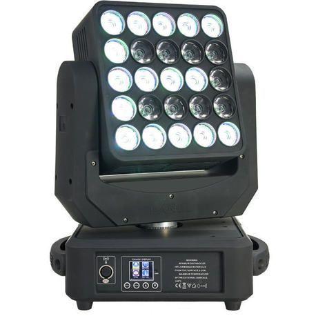 AFX MAGIC-WASH25 CABEZA MOVIL LED 25x12W CREE RGBW