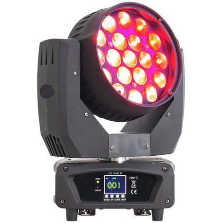 AFX LEDWASH-1912Z CABEZA MOVIL LED 19x12W ZOOM