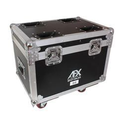 AFX FL2120 FLIGHT CASE FOR 2x SPOT120LED