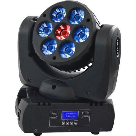 AFX LEDWASH712 CABEZA MOVIL LED WASH 7x12W