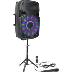 "PARTY PARTY-15PACK ALTAVOZ AUTOAMPLIFICADO 15"" USB/SD/FM/BT/MIC 800W"