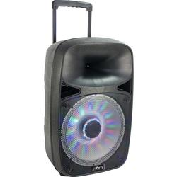 "PARTY PARTY-SP500 ALTAVOZ PORTATIL A BATERIAS 12"" 250W-RMS USB/BT/MICRO VHF"