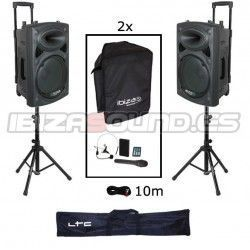 IBIZA SOUND PORT12UHF PACK-2