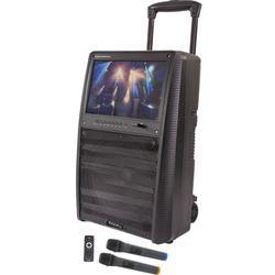 ALTAVOZ PORTATIL IBIZA SOUND PORT-TFT12 USB/SD/MP5/BT/TFT/UHF 400W-RMS
