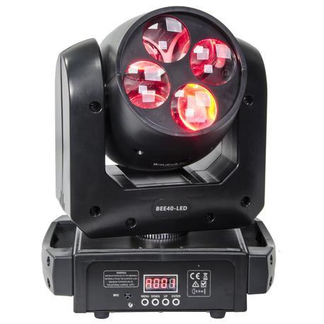 CABEZA MOVIL LED IBIZA LIGHT BEE40-ED 4x10W