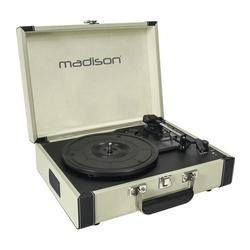 TOCADISCOS MADISON MAD-RETROCASE-CR USB/SD/BT/RECORD