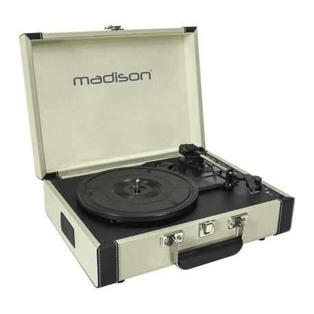 TOCADISCOS MADISON MAD-RETROCASE-CR USB/SD/BT/RECORD