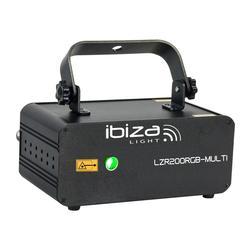 IBIZA LIGHT LZR200RGB-MULTI LASER RGB DMX 200mW